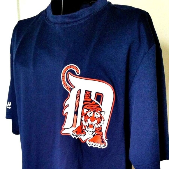 newest 1be1a e6bfc Detroit Tigers Shirt Medium Mens Majestic MLB